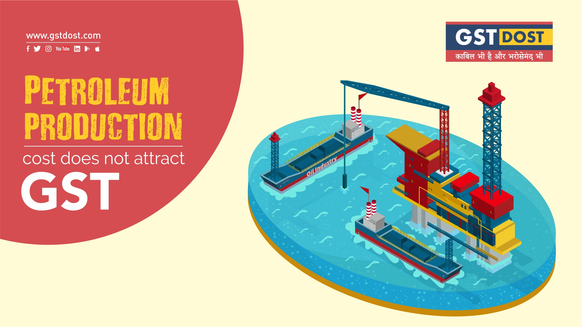 Petroleum production cost does not attract GST