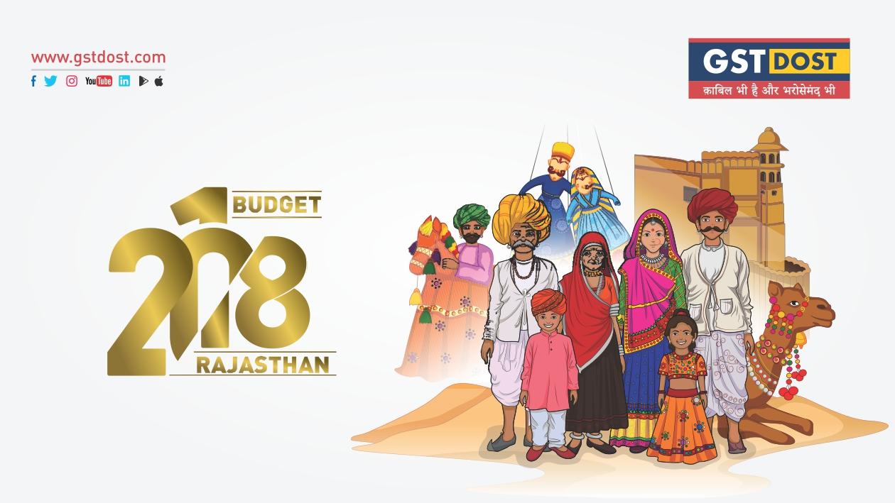 Rajasthan State Budget 2018