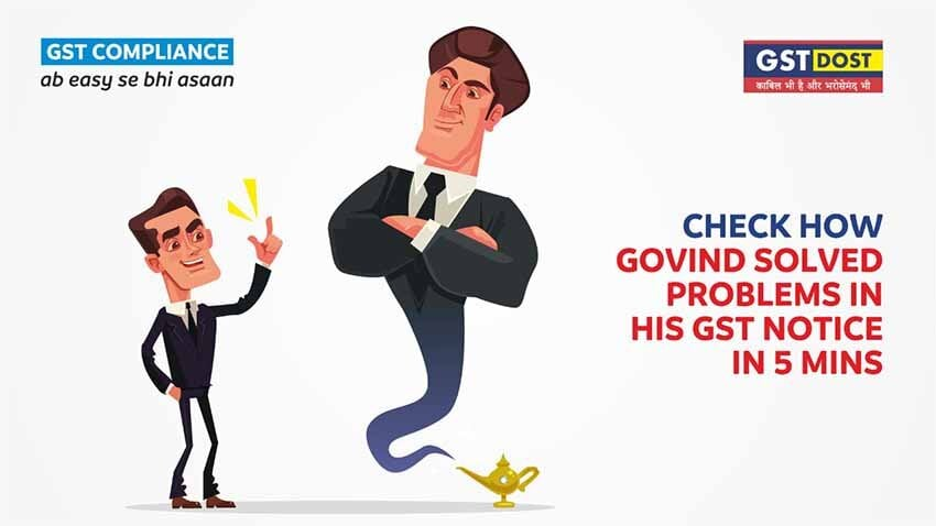 Check, how Govind solved problems in his GST Notice related to GSTR 3B and EWB Reconciliation in 5 Mins