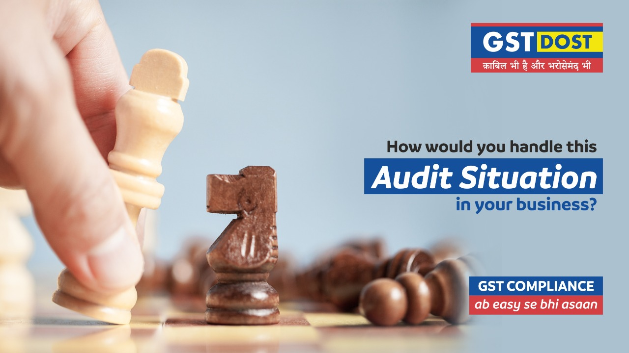 How would you handle this Audit situation in your business?