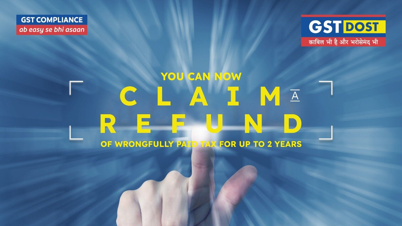 You can now claim a refund of wrongfully paid tax for up to 2 years
